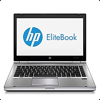 "HP EliteBook 8470P 14"" Notebook PC - Intel Core i5-3320M 2.6GHz 8GB 320GB DVD Windows 10 Professional (Certified Refurbish)"