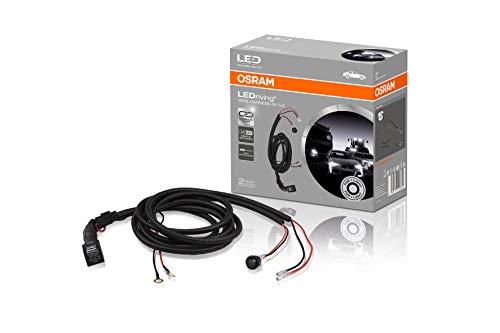 OSRAM LEDriving WIRE HARNESS AX 1LS, arnés de cableado para tiras de luces de coche, kit de barra de luz, juego de cables para instalar una fuente de luz, adaptador para faros de coche