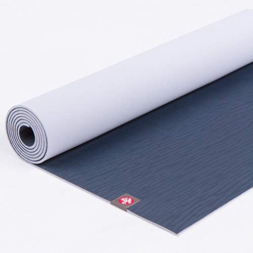 Manduka EKO Yoga Mat – Premium 6mm Thick Mat, Eco Friendly and Made from Natural Tree Rubber. Ultimate Catch Grip for Superior Traction, Dense Cushioning for Support and Stability.