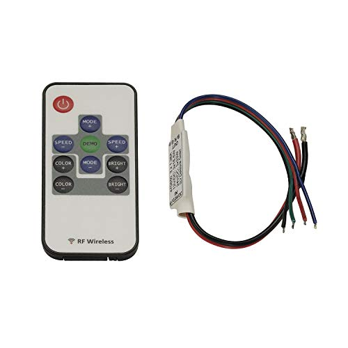 EASY LIM RF MINI RGB contrôleur maître, 12V/DC et 24V/DC, avec télécom
