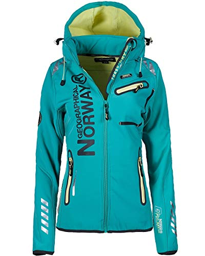 Geographical Norway Damen Jacke Reine Lady Lagoon L