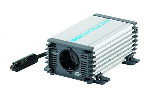 DOMETIC 9105303794 PerfectPower PP 154, Sinus-Wechselrichter, Auto Spannungswandler 24 V auf 230 V, Überspannungsschutz, 150 W, mobile Steckdose, Inverter