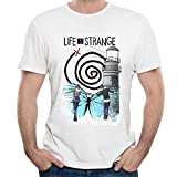 Classic Game Life is Strange T Shirt For Man 100% Cotton Male Round Neck T-Shirt Leisure Camiseta