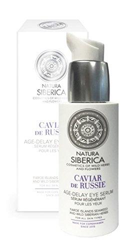 Natura Siberica Serum Contorno de Ojos Anti-Age, Caviar de Rusia - 30 ml