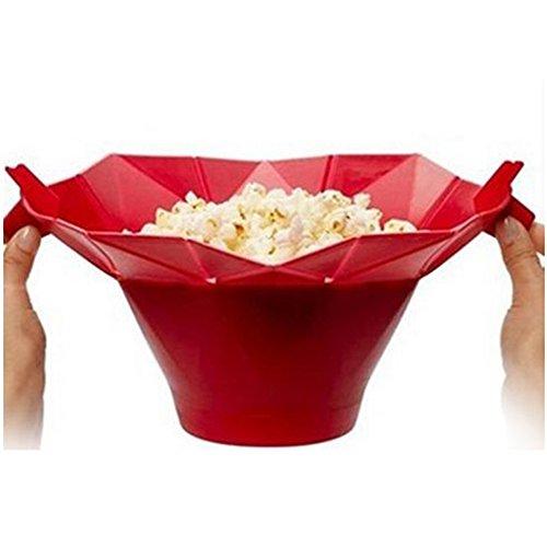 Best Buy! Fashionwu Microwave Popcorn Popper Silicone Microwave Popcorn Maker Popcorn Popper Popcorn...