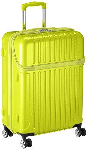 [アクタス] スーツケース ジッパー トップオープン トップス 無料預入 74-20320 59L 63.5 cm 3.9kg ライムカーボン