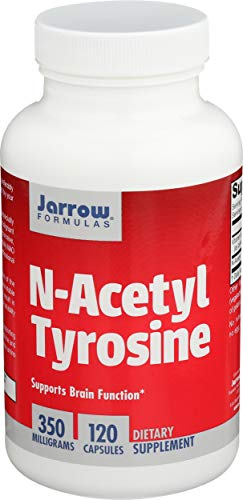 Jarrow Formulas N-Acetyl Tyrosine, 350mg - 120 caps 120 Unidades 100 g