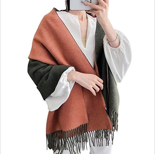 Sportinggoods herfst en winter imitatie kasjmier sjaal modieus patroon vrouwelijk lange deel mozaïek print sjaal multicolor dikke warme sjaal