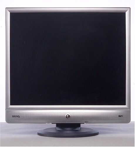 BenQ FP91V 48,3 cm (19 Zoll) TFT Monitor DVI (Kontrast 550:1, 4ms Reaktionszeit) silber/schwarz