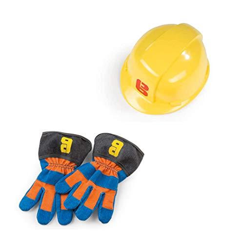 Simba Dickie 7600360162 The Builder Bob der Baumeister Handschuhe + Helm