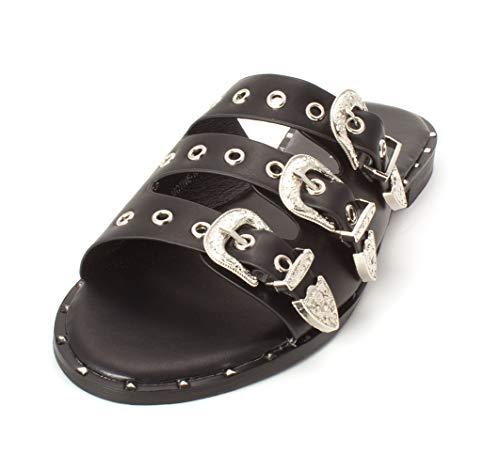 Henry Ferrera Fashion Sandal Sandals Black 8
