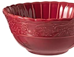"​Non-reactive stoneware construction Size: 6 1/4"" Soup Bowl Dishwasher & Microwave Safe Quantity: 1pcs"
