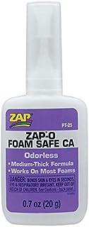 ZAP PT25 Zap-O CA+ 発砲スチロール用中粘度瞬間接着剤 20g - Zap-O Odorless CA+ Foam Safe Glue .7 oz