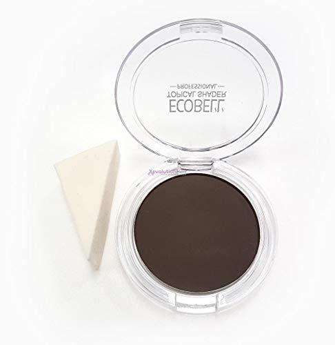 Ecobell Shader Haar Concealer zur Haarverdichtung, Inhalt:25g; Mittelbraun - Mid Brown