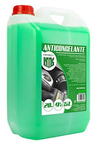 MOTORKIT MOT3538 Antigelo, Verde, 5 L