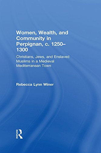 Women, Wealth, and Community in Perpignan, c. 1250–1300: Christians, Jews, and Enslaved Muslims in a Medieval Mediterranean Town (English Edition)