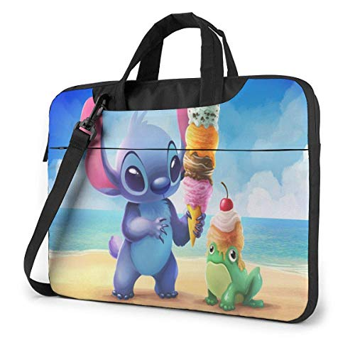 Laptop Sleeve Bag Cartoon Stitch Ice Cream Laptop Sleeve Case Cover,Tablet Briease, Notebook Sleeve Case