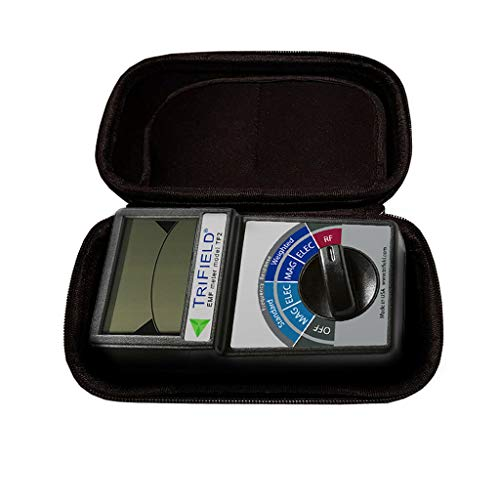 RFandEMF Trifield EMF Meter Model TF2 With Black Soft Pouch