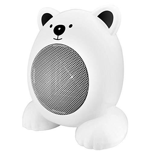 Mini Riscaldamento Portatile da Tavolo per La Casa Riscaldamento Elettrico Ricaricabile Ufficio Autunno E Inverno Scaldamani Riscaldato A Mano Dormitorio Piccolo Riscaldatore da 360W,White