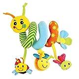 Giros, Espiral de Actividades Insecto Divertido Juguetes para bebés (AJ 1)
