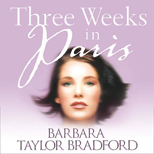Three Weeks in Paris audiobook cover art