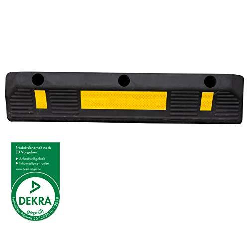 PETEX 49010004 Garagenstopper mit Reflexionsstreifen nach ECE R 104
