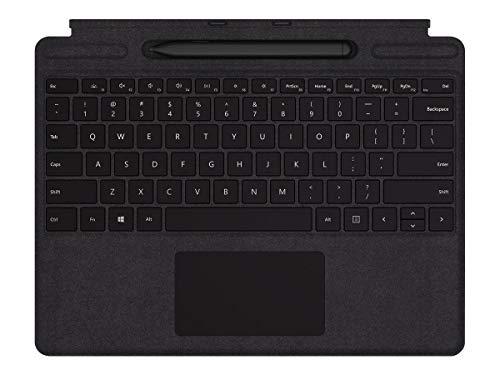Microsoft Surface Pro X Signature Keyboard - Slim Pen Bundle- Tastatur- with Trackpad - german - black