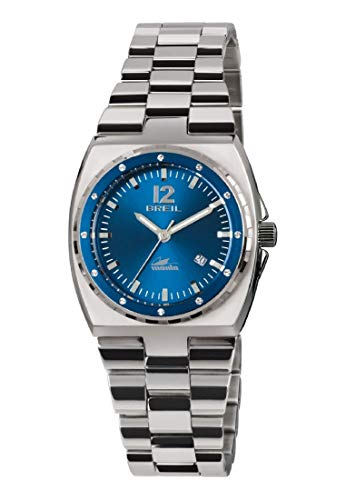 Orologio BREIL donna MANTA SPORT quadrante blu e bracciale in acciaio, movimento SOLO TEMPO - 3H QUARZO