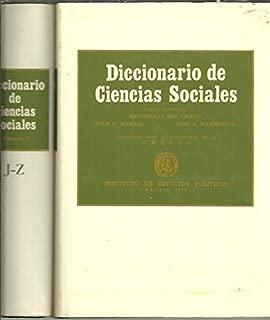 DICCIONARIO DE CIENCIAS SOCIALES.