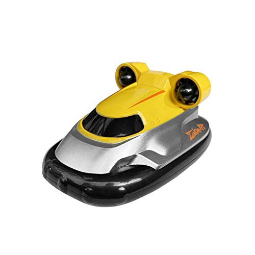 cypressen Barco teledirigido de 2,4 GHz, minibarco eléctrico con mando a distancia y pilas recargables, velocidad rápida, RC Boot para piscina