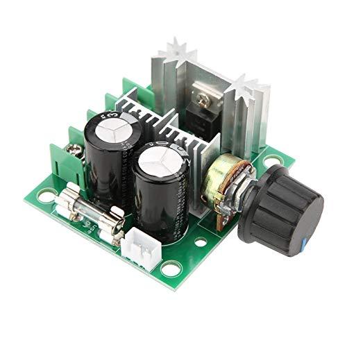 Chipoee PWM DC Motor Governor 12V-40V 10A PWM DC Motor Governor Módulo de Interruptor de Velocidad Variable Continua