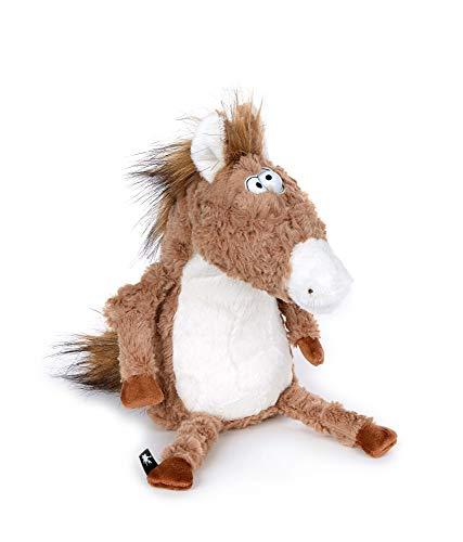 sigikid, Pferd - The Race Winner, Beaststown, Kuscheltier für Erwachsene und Kinder, beige/braun ,39184
