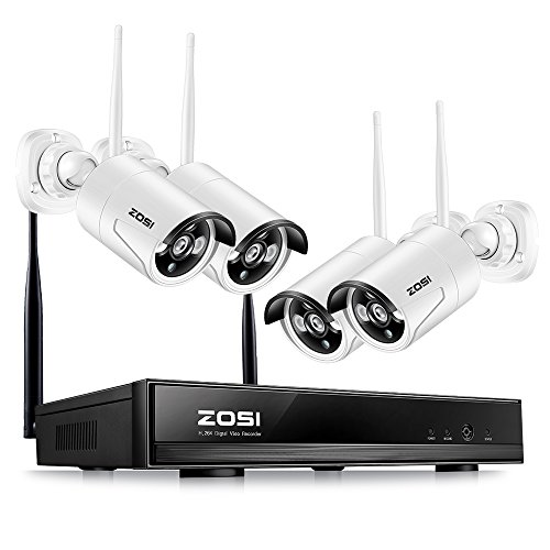ZOSI Wireless Security Cameras System