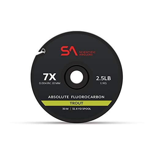 Scientific Anglers Absolute Trout Fluorocarbon Tippet Clear, 5X