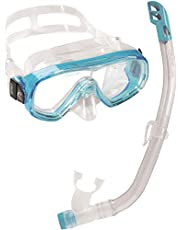Cressi Ondina VIP Premium Combo Set - Gafas Ondina y Tubo Top para Niños 7/13 Años