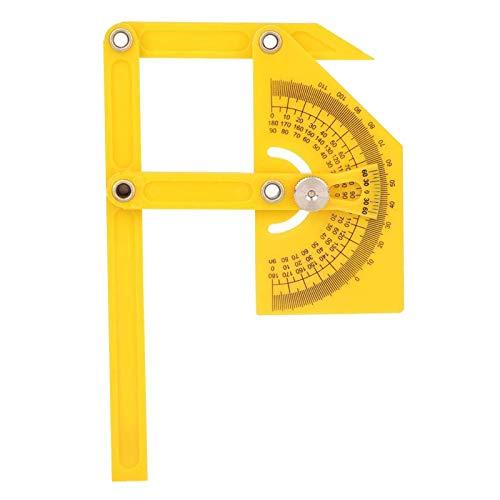 Goniómetro, Transportador De 180 Grados, Buscador De Ángulo, Brazo De Inglete, Regla De Medición Para Taller Escolar Oficina Industrial