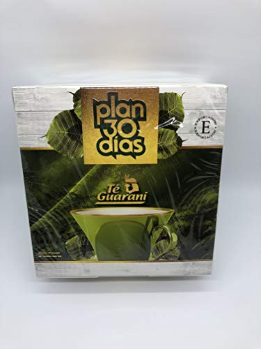 Plan 30 días Te Guarani Acción Laxante y Diurética Adelgazamiento Natural 60 bolsitas