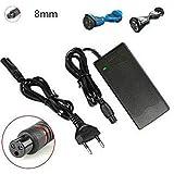 DES- Chargeur de batterie de trottinette compatible avec Xiaomi M365 électrique 42V-2000 mA...