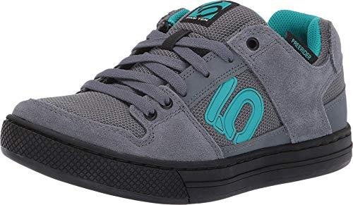 Five Ten Freerider Mountain Bike Shoe - Women's Onix/Shock Green/Black 8.5