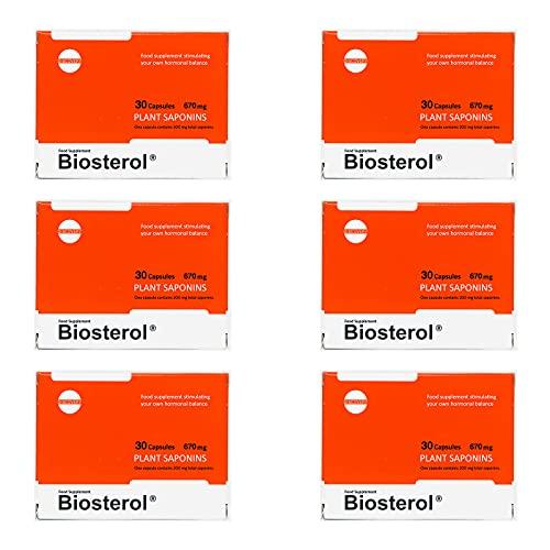 MEGABOL BIOSTEROL | Potenciador anabólico de testosterona para hombres | Apoyo hormonal | Activador de crecimiento de masa muscular | Complemento alimenticio | Pastillas de culturismo (180 cápsulas)