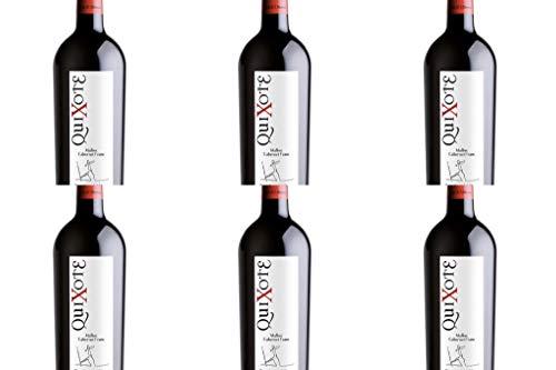 Vino Quixote Malbec Cabernet Franc Wine Pack 6 Botellas