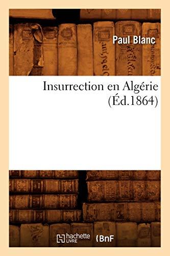 Insurrection en Algérie (Éd.1864)