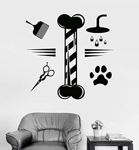 yaonuli gemodificeerde huisdierverzorging huismuur raam decoratie applicatie dier zelfklevende vinyl sticker modern design applicatie