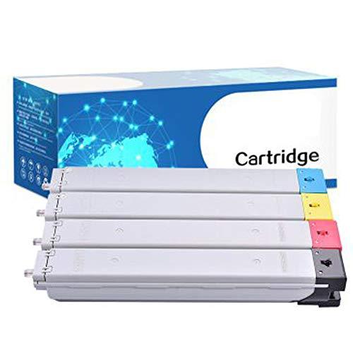 Samsung CLT809S CLX-9301NA CLX-9201NA CLX-9201MD CLX-9251ND - Cartuchos de tóner compatibles con impresoras láser Samsung, color Combinación size