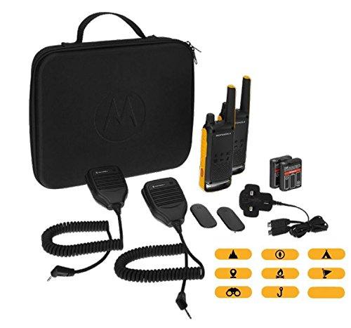 Motorola Talkabout T82 Extreme RSM (micrófono de Altavoz Remoto) 2 vías Walkie Talkie Radio
