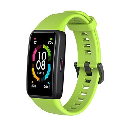 HONOR Band 5 smartwatch,Pulsera de Actividad Inteligente Reloj Impermeable IP68 con Pulsómetro,Monitor de Actividad Deportiva, Fitness Tracker con Podómetro Verde (Versión Global)