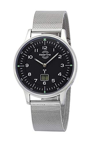Master Time Funk Quarz Herren Uhr Analog-Digital mit Edelstahl Armband MTGS-10656-61M