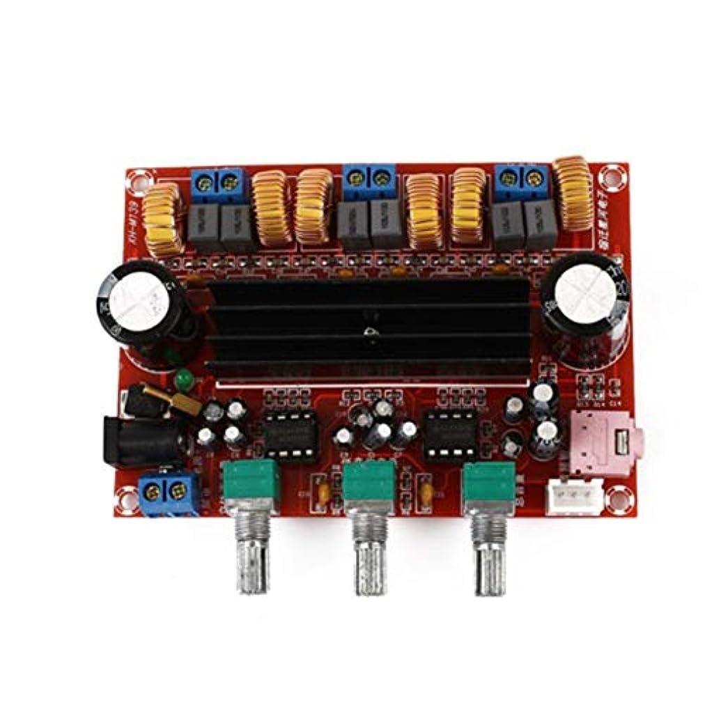 発明西部踊り子Ququack Aiyima TPA3116 2.1デジタルオーディオアンプスピーカーサブウーファーアンプTPA3116d2 DC12V 24V 2 * 50W + 100W