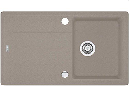 Franke Basis BFG 611-86 Cashmere Grau Granit-Spüle Spülbecken Einbau-Spüle Küche