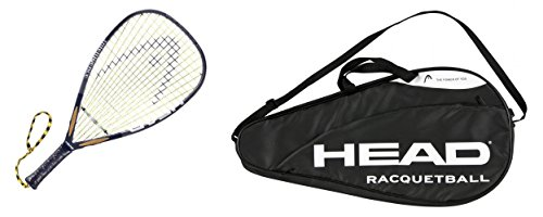 Head i.165 Racquetball Racquet with Full Cover